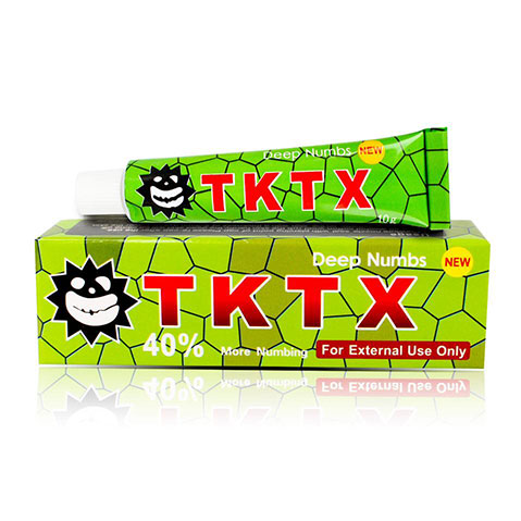 Green 40% The Best TKTX Numb Cream Anaesthetic 3-5 hours Fast Semi Permanent Skin Body Duration